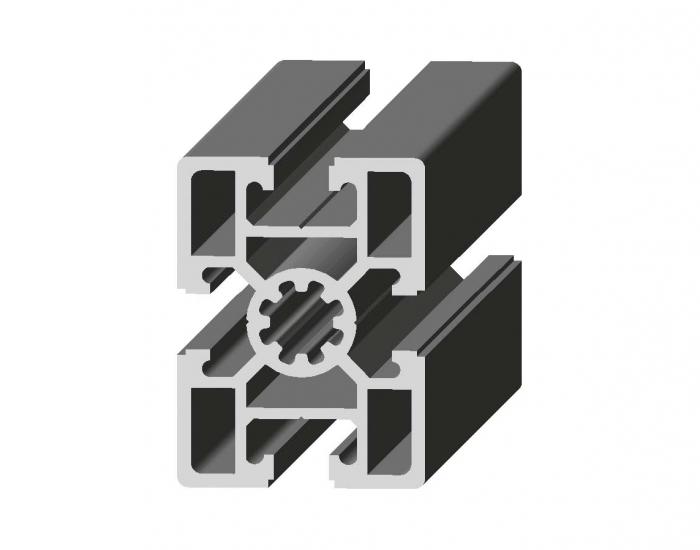 Perfil de Aluminio Básico 45 x 60 Canal de 10 mm Ref. 5005