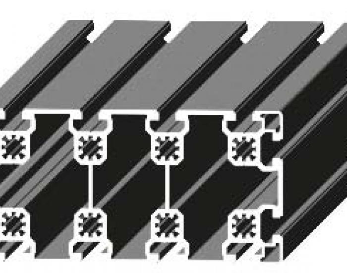 Perfil de Aluminio 90 x 180 Canal de 10 mm