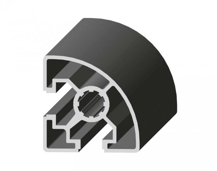 Perfil de Aluminio MC-45 Canal de 10 mm Ref. 5024