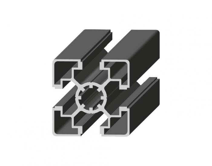 Perfil de Aluminio Ligero 45 x 45 Canal de 10 mm Ref. 5001