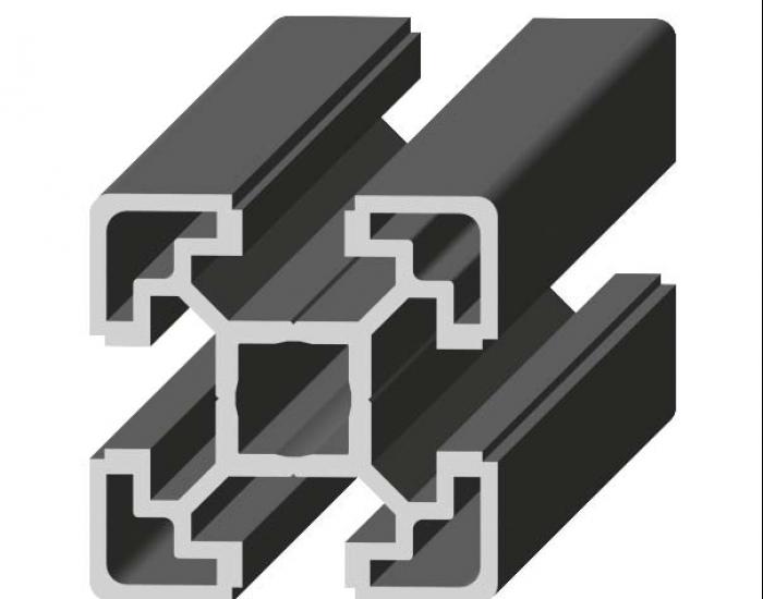 Perfil de Aluminio Básico 40 x 40 Canal de 10 mm Ref. 5009