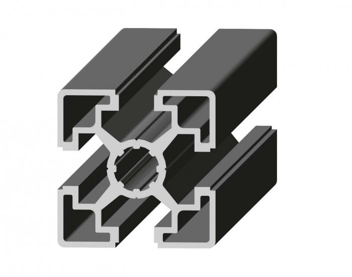 Perfil de Aluminio Básico 45 x 45 Canal de 10 mm Ref. 5021