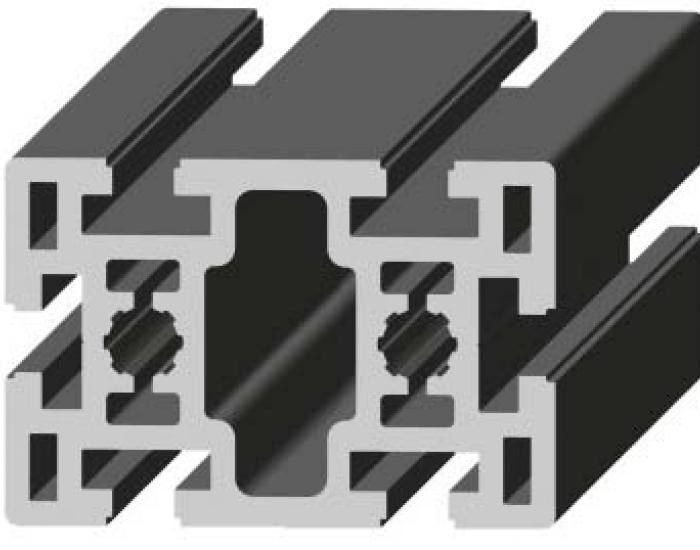Perfil de Aluminio Básico 60 x 90 Canal de 10 mm Ref. 5044