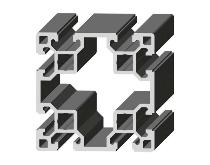 Perfil de Aluminio 80 x 80 Canal de 10 mm