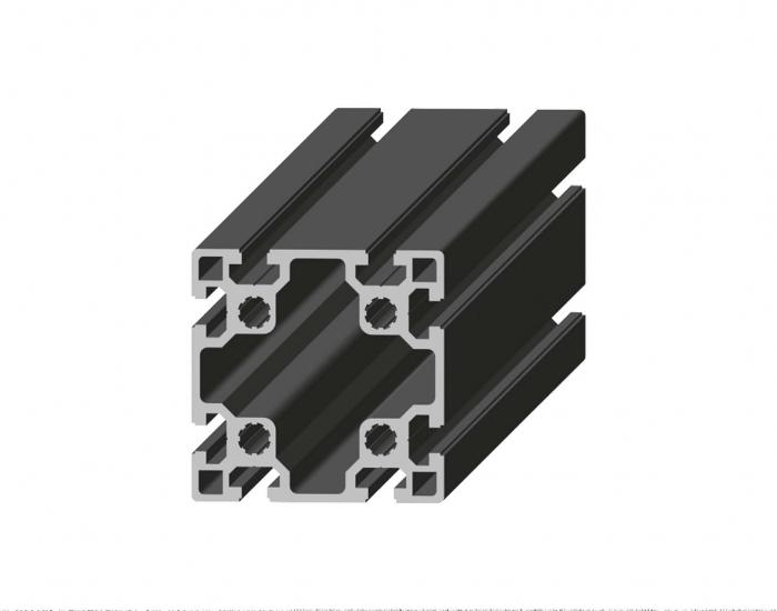 Perfil de Aluminio Básico 100 x 100 Canal de 10 mm Ref. 5055