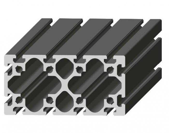 Perfil de Aluminio Básico 100 x 200 Canal de 10 mm Ref. 5052