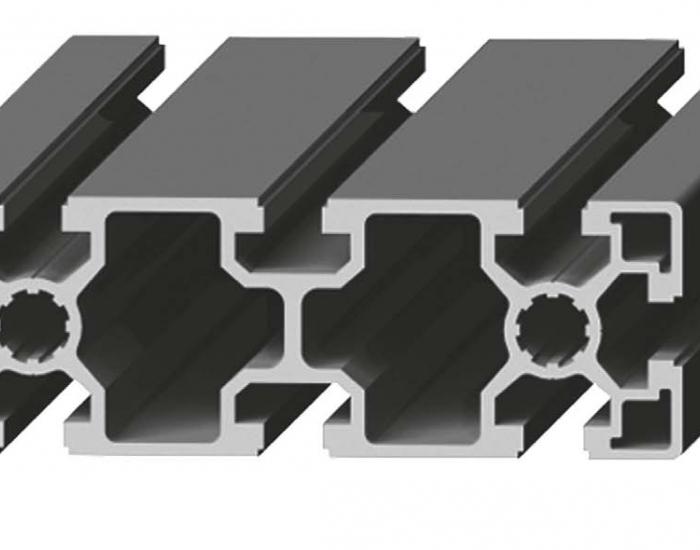 Perfil de Aluminio 45 x 135 Canal de 10 mm Ref. 5058