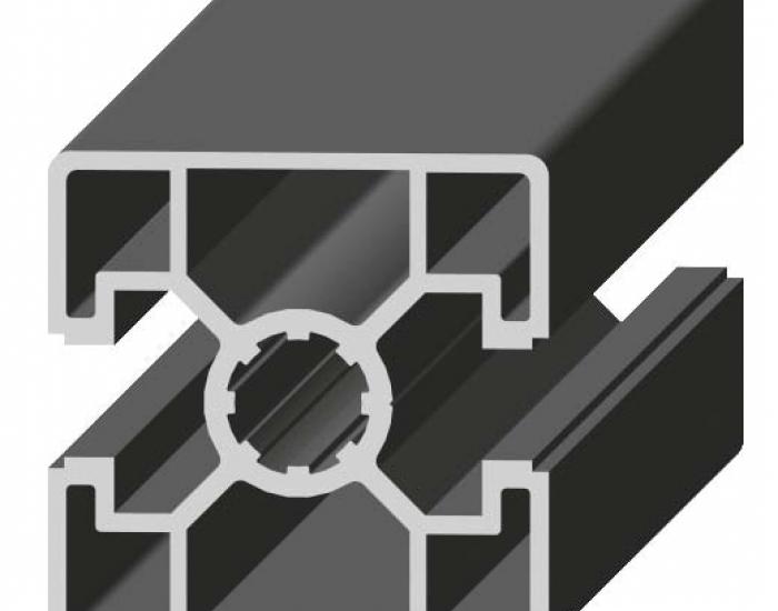 Perfil de Aluminio 2 Caras Lisas 180º 45 x 45º Canal de 10 mm Ref. 5040