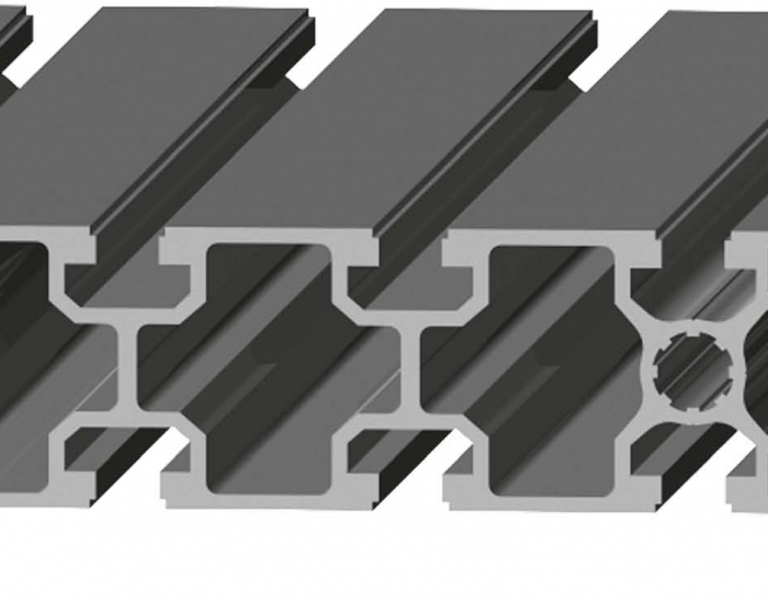 Perfil de Aluminio 45 x 180 Canal de 10 mm Ref. 5056
