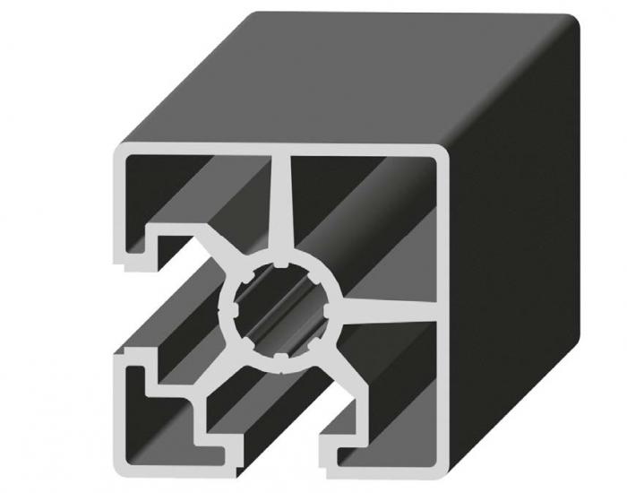 Perfil de Aluminio 2 Caras Lisas 45 x 45 2S 90º Canal de 10 mm Ref. 5022