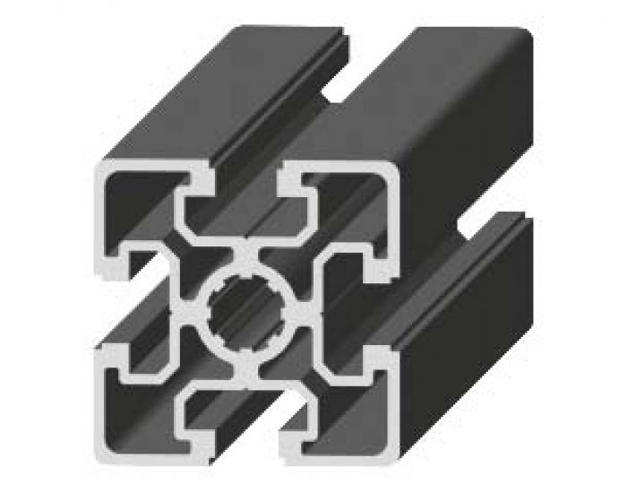Perfil de Aluminio Básico 50 x 50 Canal de 10 mm Ref. 5053