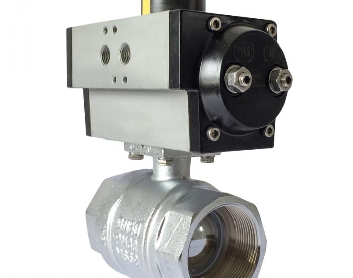 Válvula de Bola con Actuador Neumático
