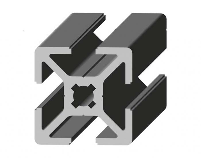 Perfil de Aluminio 25 x 25 Canal de 6 mm