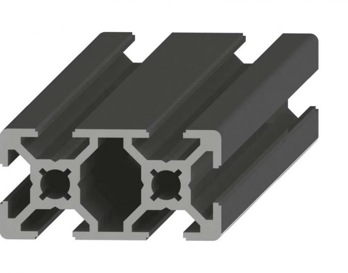 Perfil de Aluminio 20 x 40 Canal de 6 mm