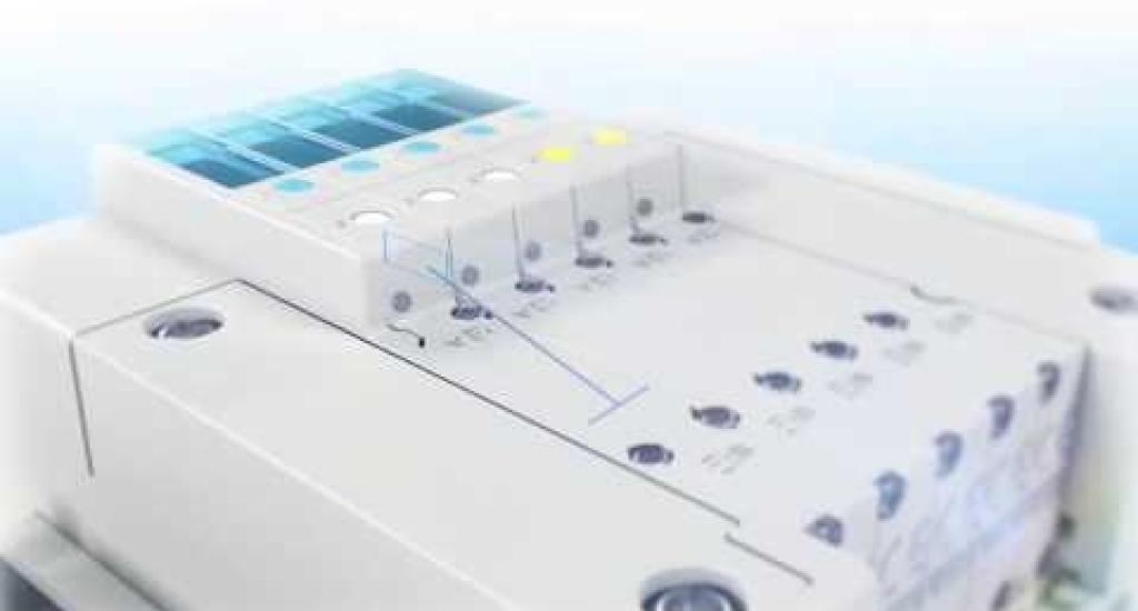 Electrovalvula de 5 vias compacta JSY
